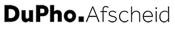 Logo dupho Afscheid